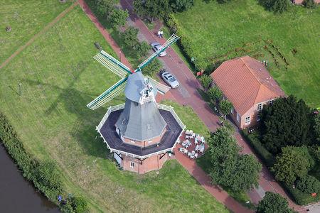 Luftaufnahme historisches