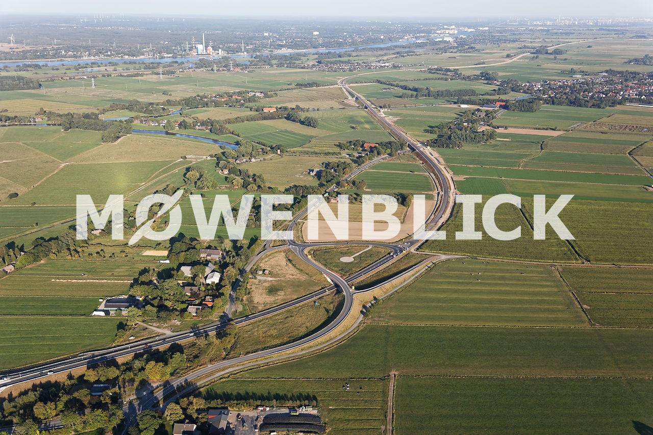 Neubau B 212 Luftbild