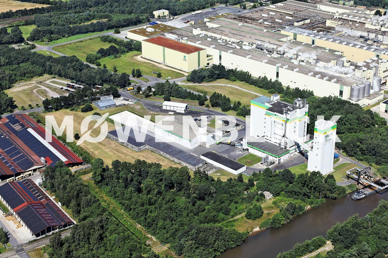 Kraftfutterwerk Luftbild