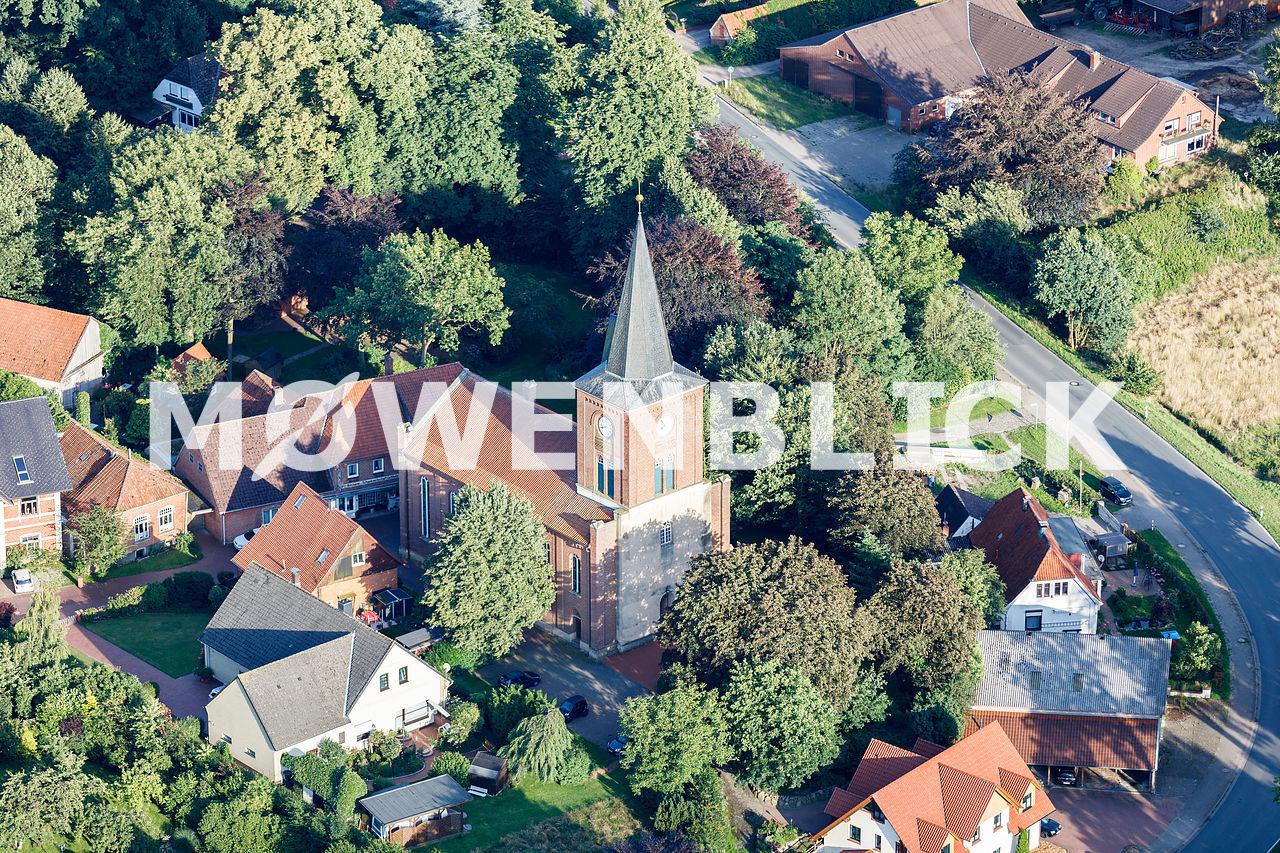 St.-Marien-Kirche Luftbild