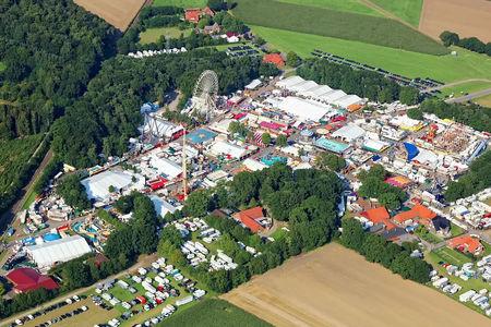 Luftaufnahme Stoppelmarkt Vechta