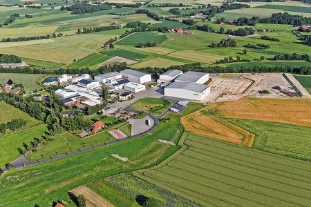 Luftaufnahme Meyer Gemüseanbau