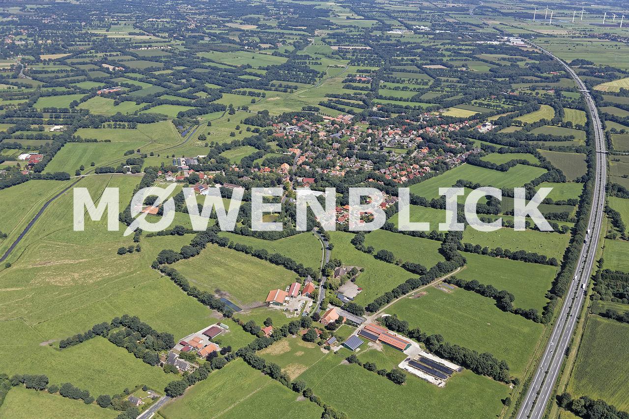 Der Ort Luftbild