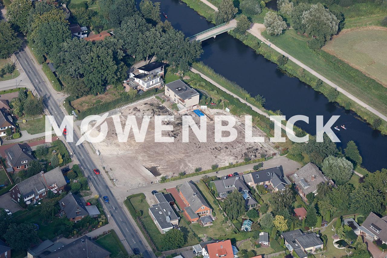 Abriss Gärtnerei Blumen Meissner Luftbild