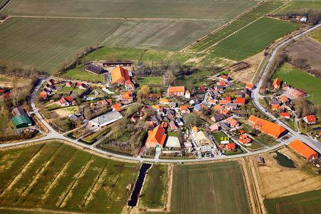 Luftaufnahme Historisches Runddorf