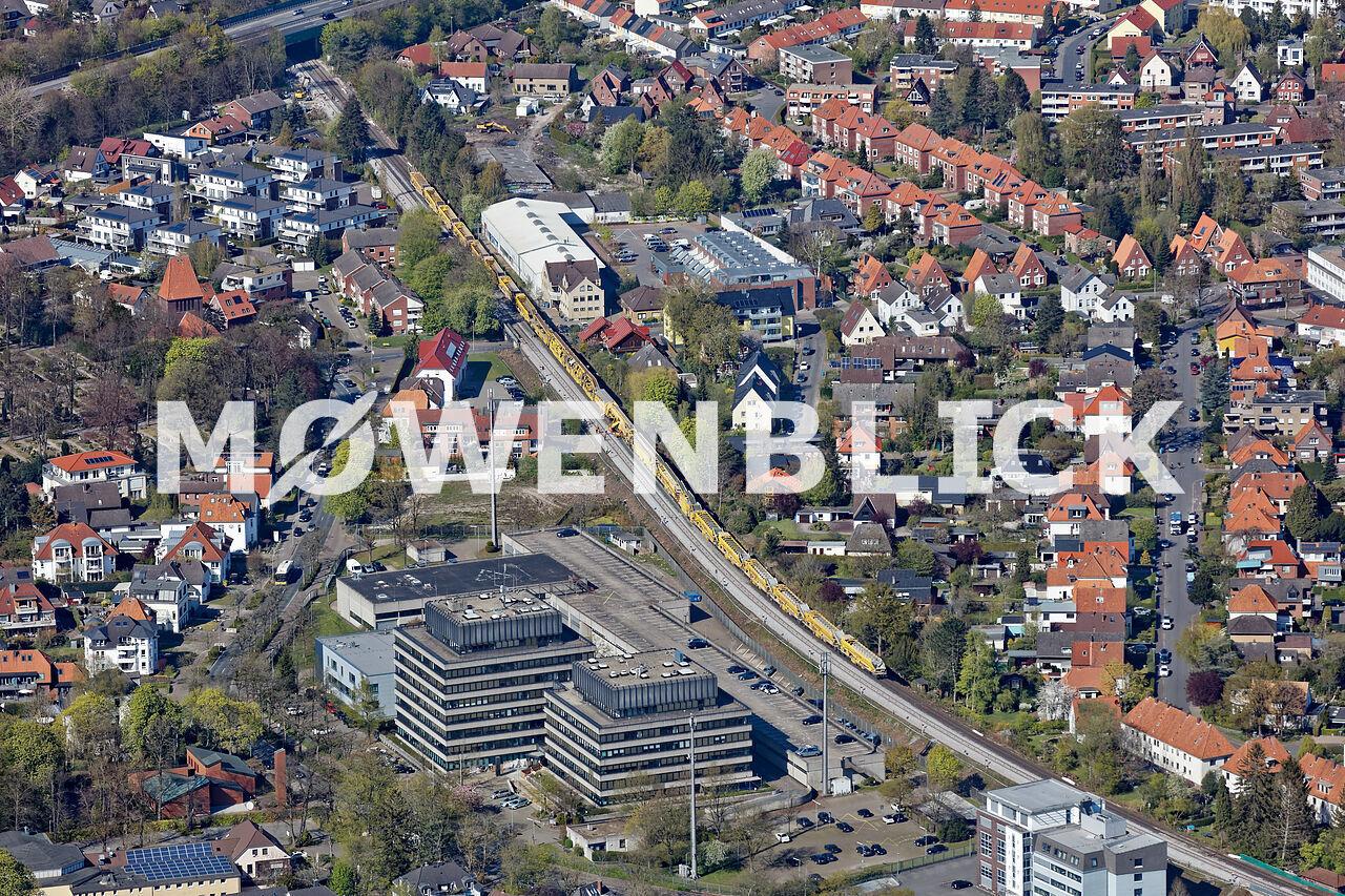 Bahnerneuerung Oldenburg Luftbild