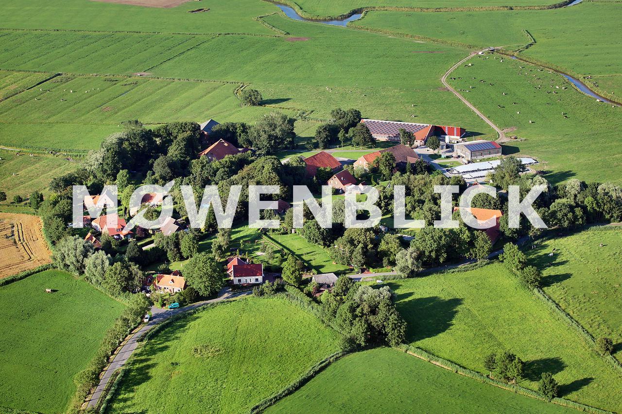 Runddorf Luftbild