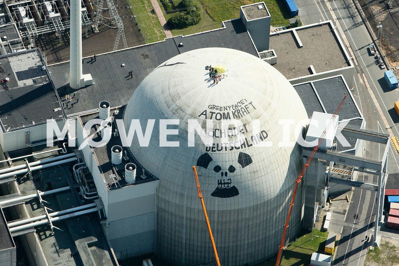 KKW Unterweser Luftbild