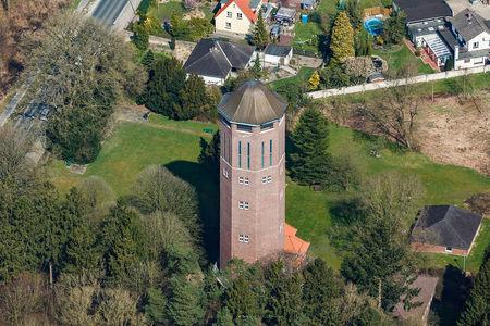 Luftaufnahme Wasserturm