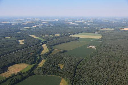 Luftaufnahme Autobahn
