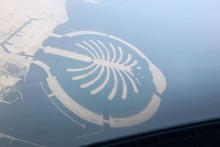 Luftaufnahme Stadt Nakhlat Jabal Ali