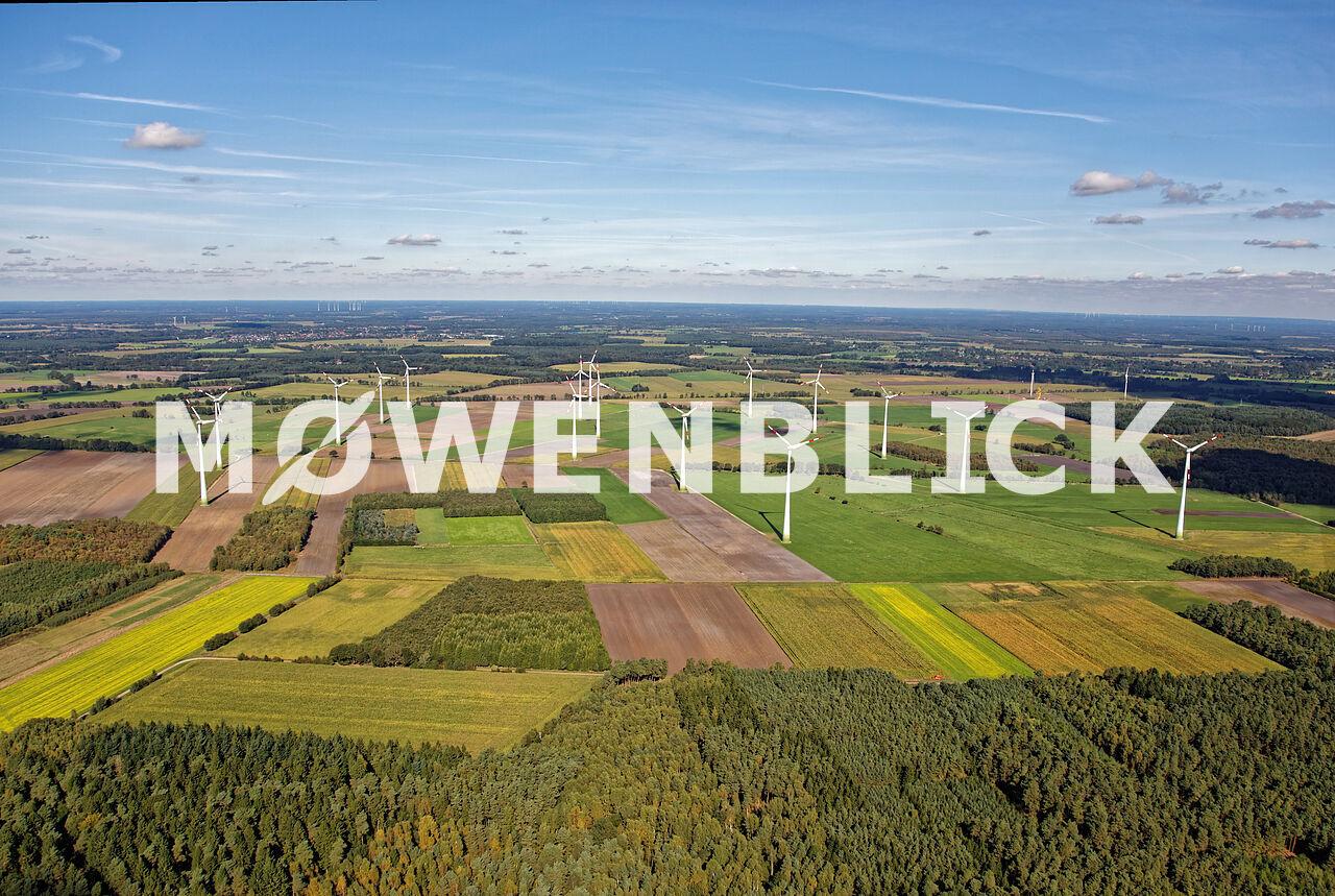 Windpark Bart Luftbild