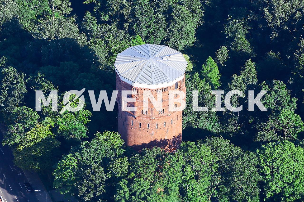 Wasserturm Kurpark Luftbild