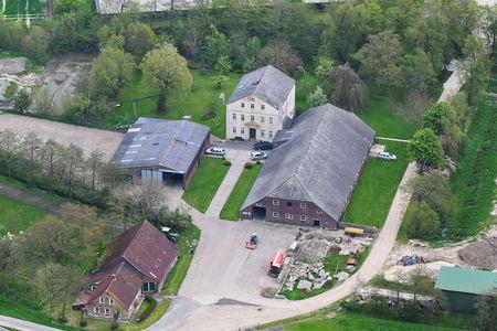 Luftaufnahme Ferienhof Friederiken