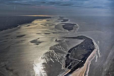 Luftaufnahme Die Ostfriesischen Inseln
