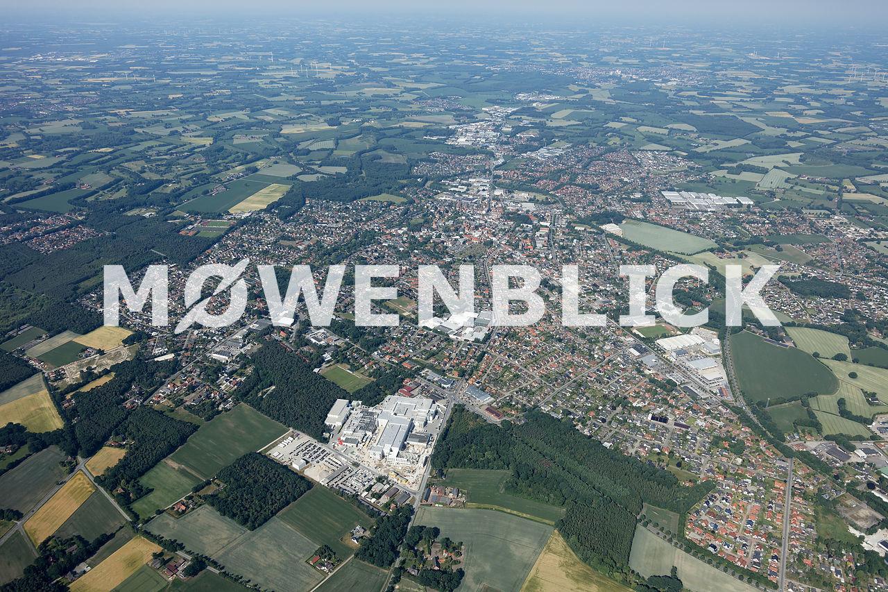 Gesamter Ort Luftbild