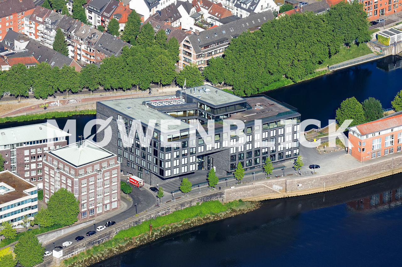 ex Beluga Gebäude Luftbild