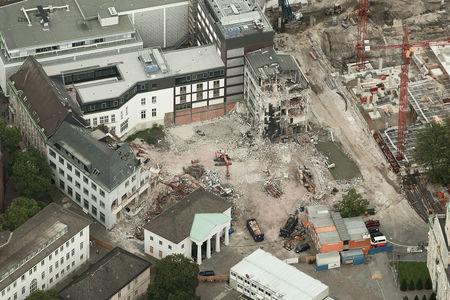 Schlossplatz LzO Abriss