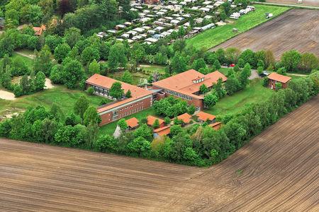 Luftaufnahme Jugendherberge Thülsfelder Talsperre
