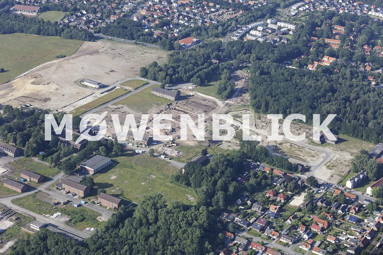 Baugebiet Fliegerhorst Luftbild