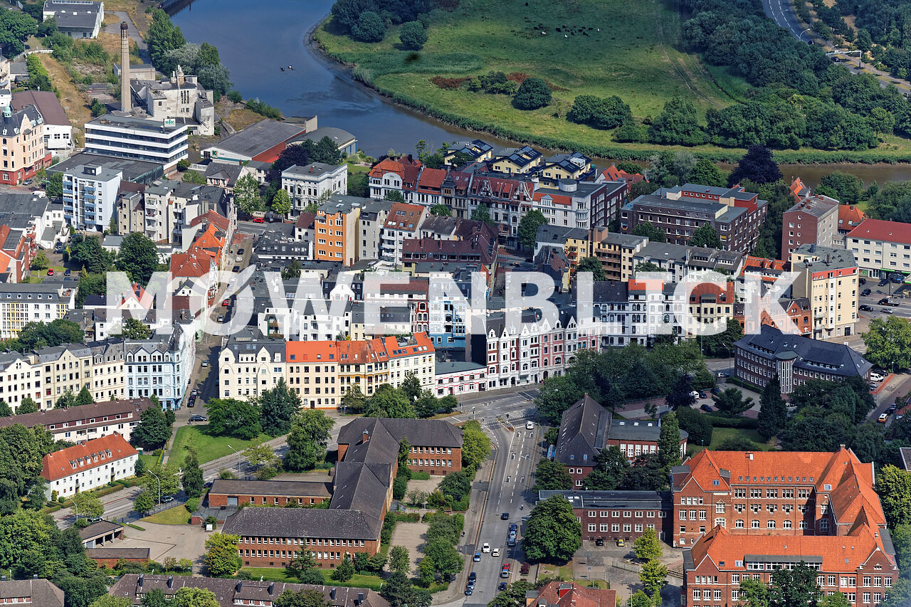 Goetheviertel Luftbild
