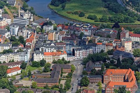 Luftaufnahme Goetheviertel