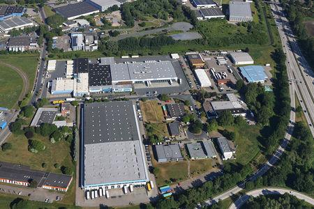 Luftaufnahme Oscar-Schulze-Straße