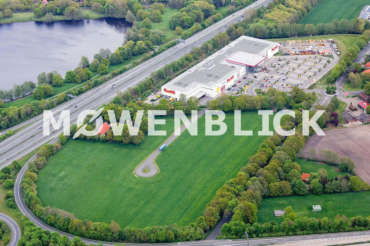 Ostmann Neubau Luftbild