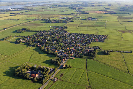 Luftaufnahme Esenshamm