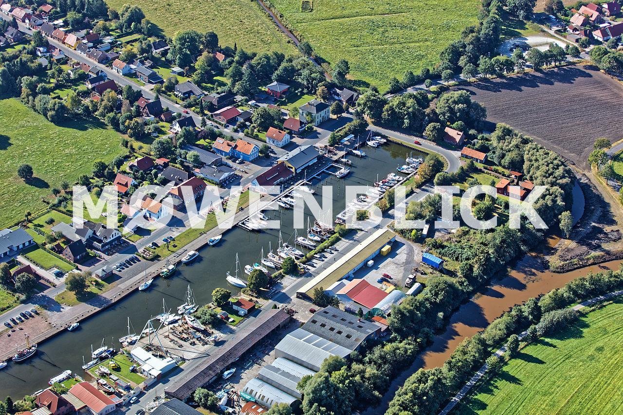 Am Hafen Luftbild