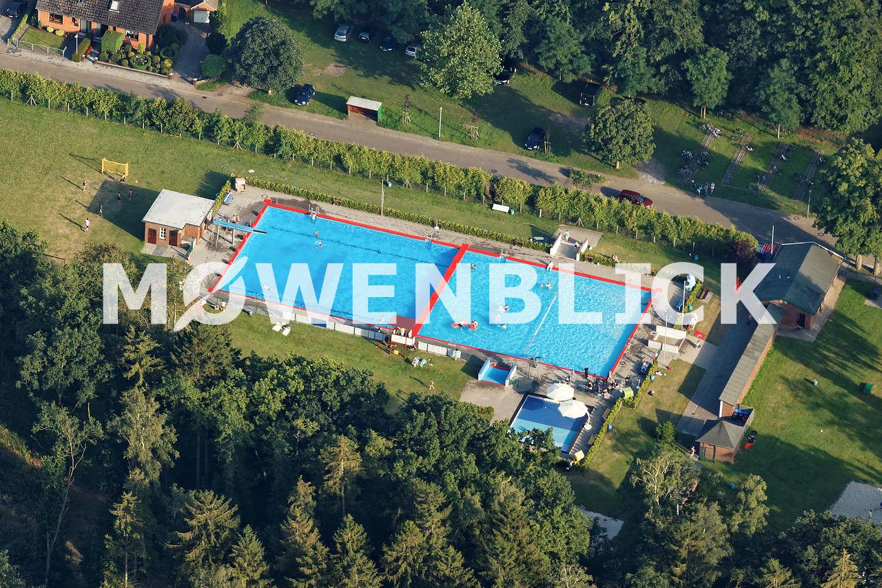 Freibad Luftbild