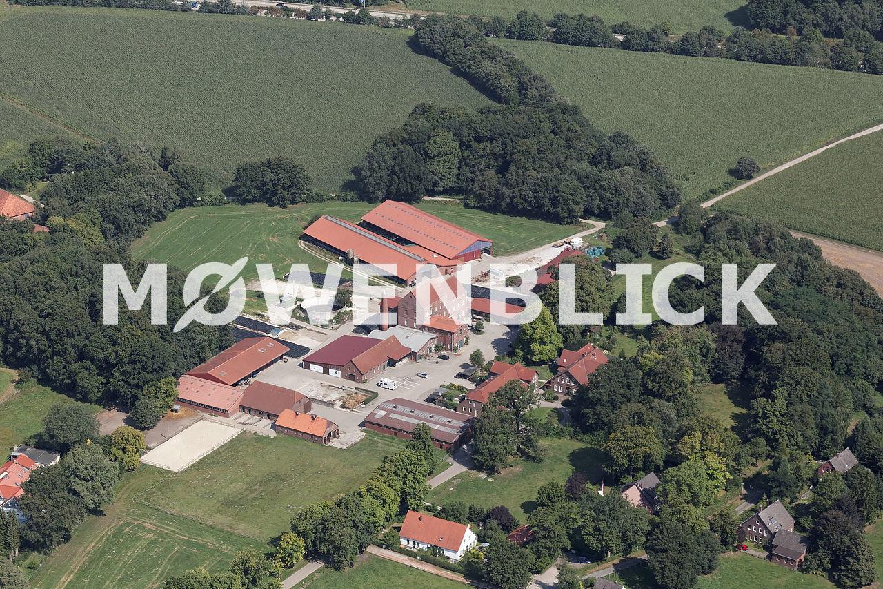 Alte Brennerei Hilbers Luftbild