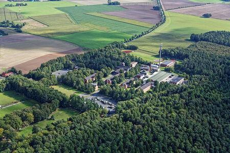 Luftaufnahme Gewerbegebiet Celler Straße