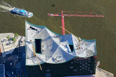 Luftaufnahme Elbphilharmonie