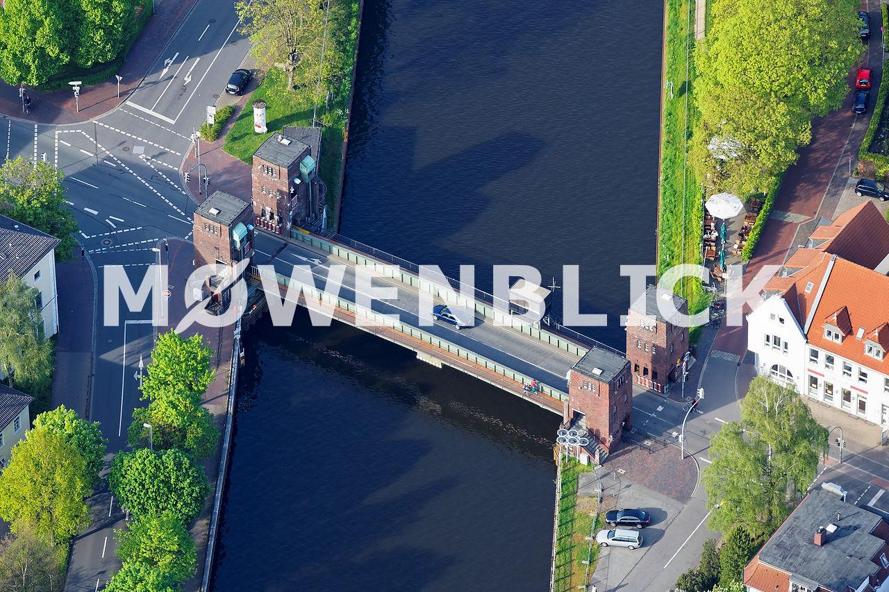 Cäcilienbrücke Luftbild
