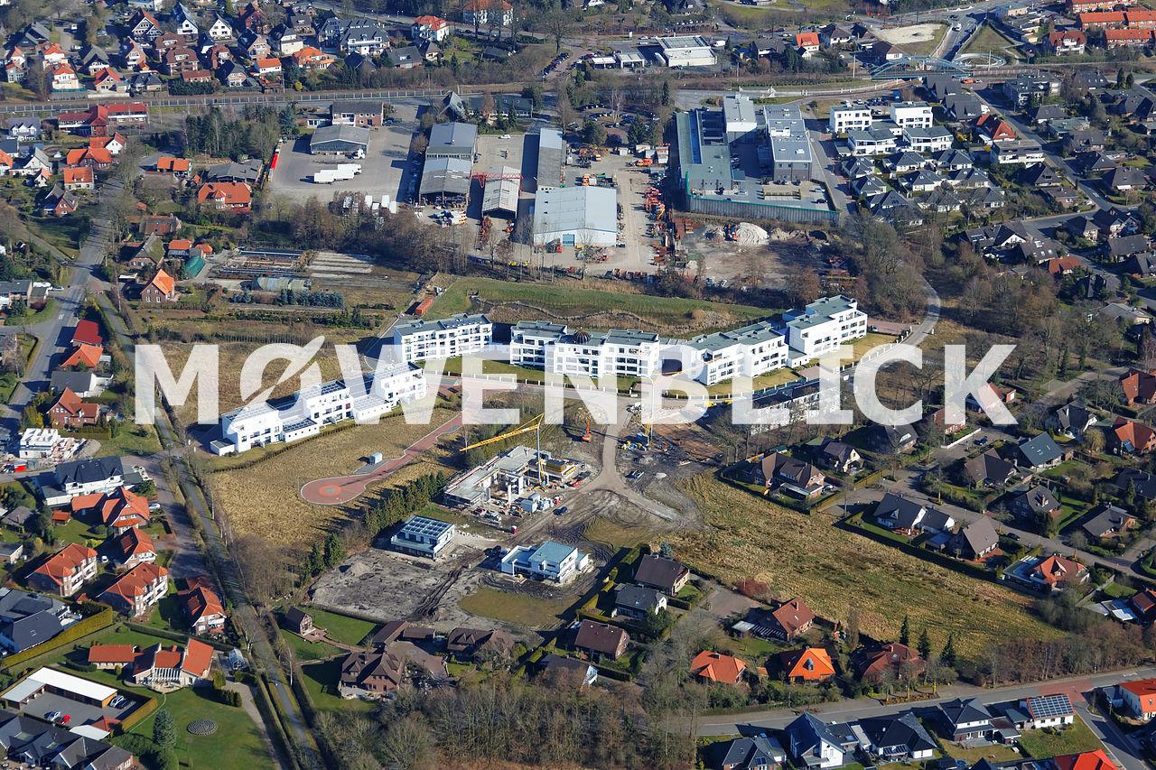 Lavendelweg Luftbild