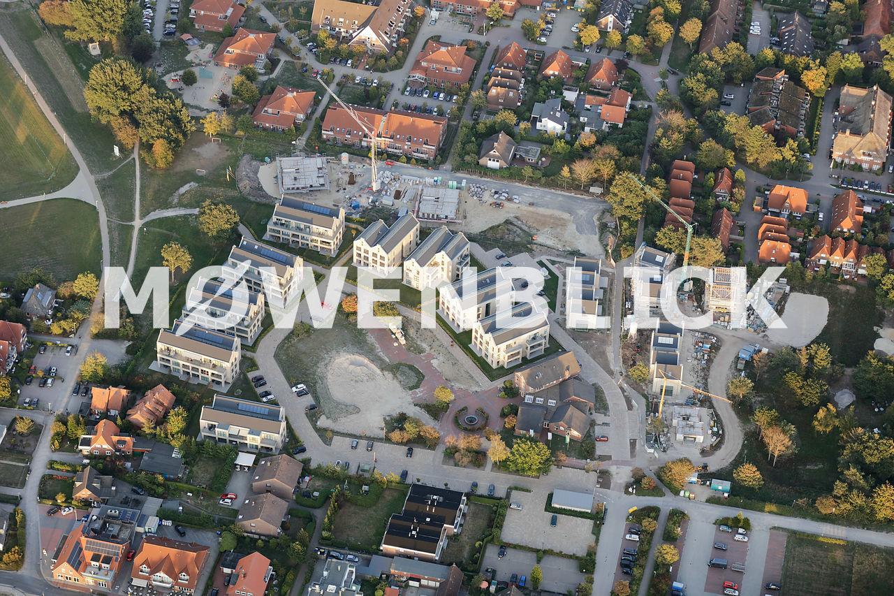 Neubauten Dangast Luftbild
