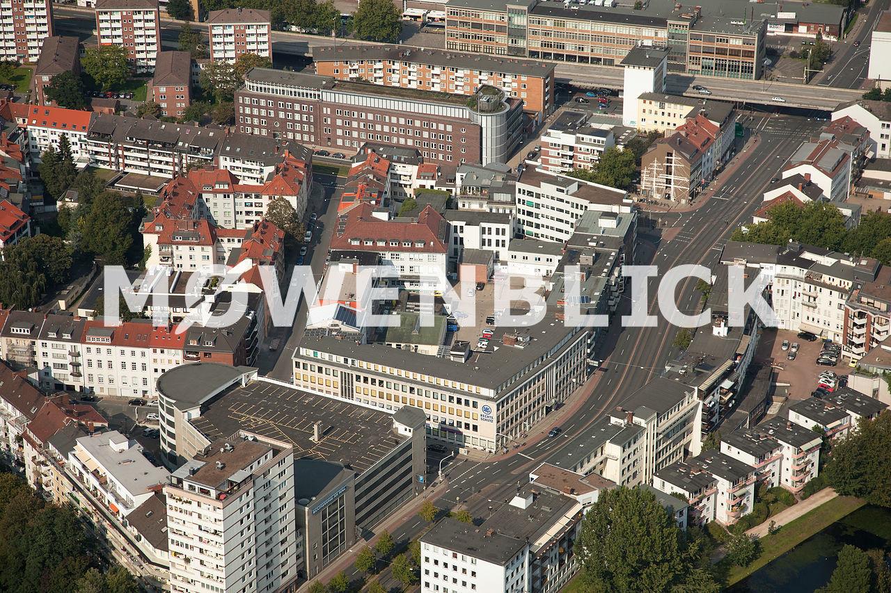 Langemarckstraße Luftbild