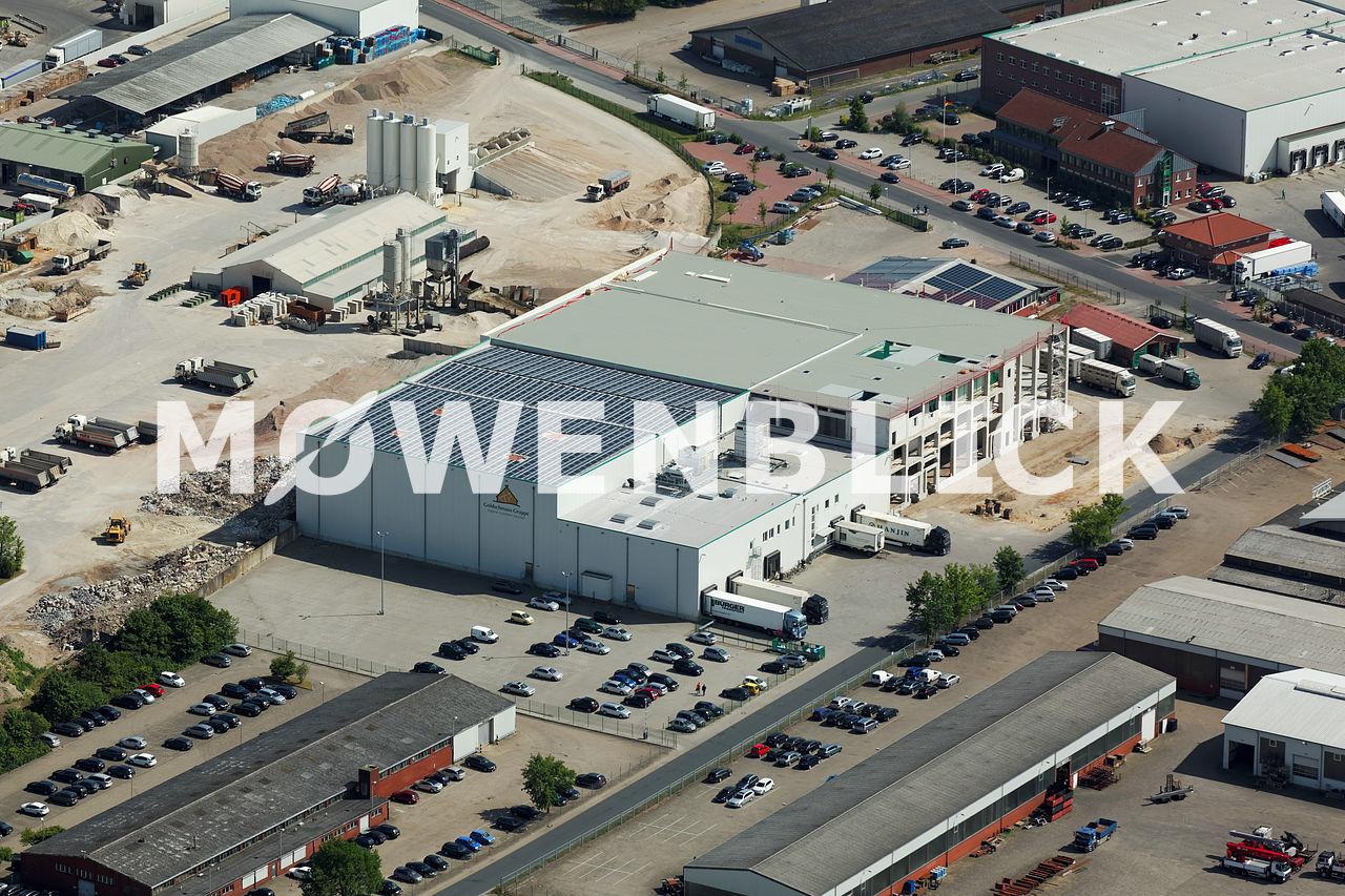 Goldschmaus Industriestraße Luftbild