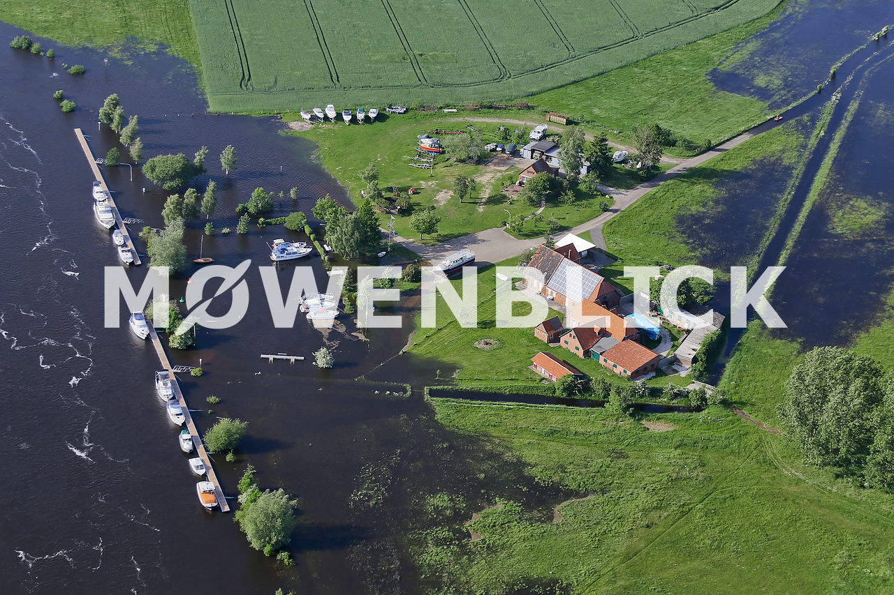 Motorboot-Verein Luftbild