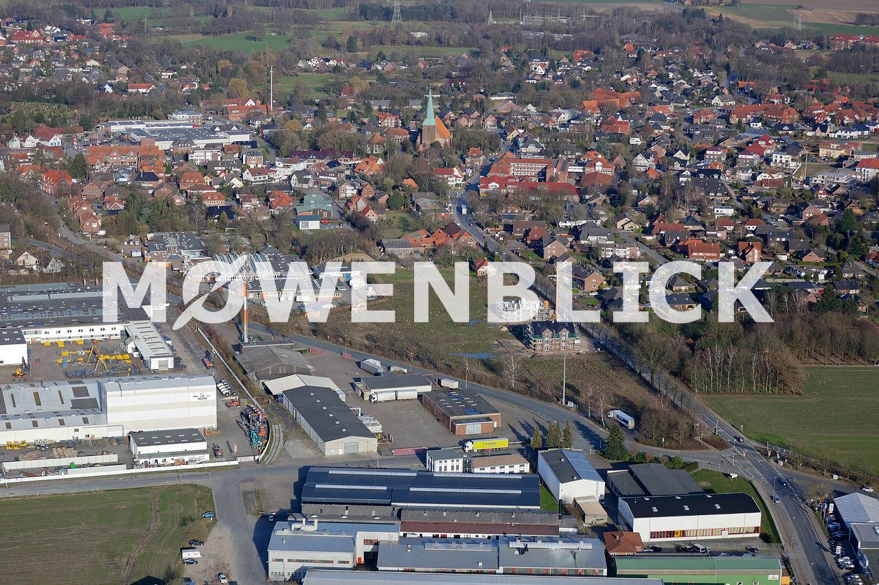 Bebauung Köhlerwiese Luftbild