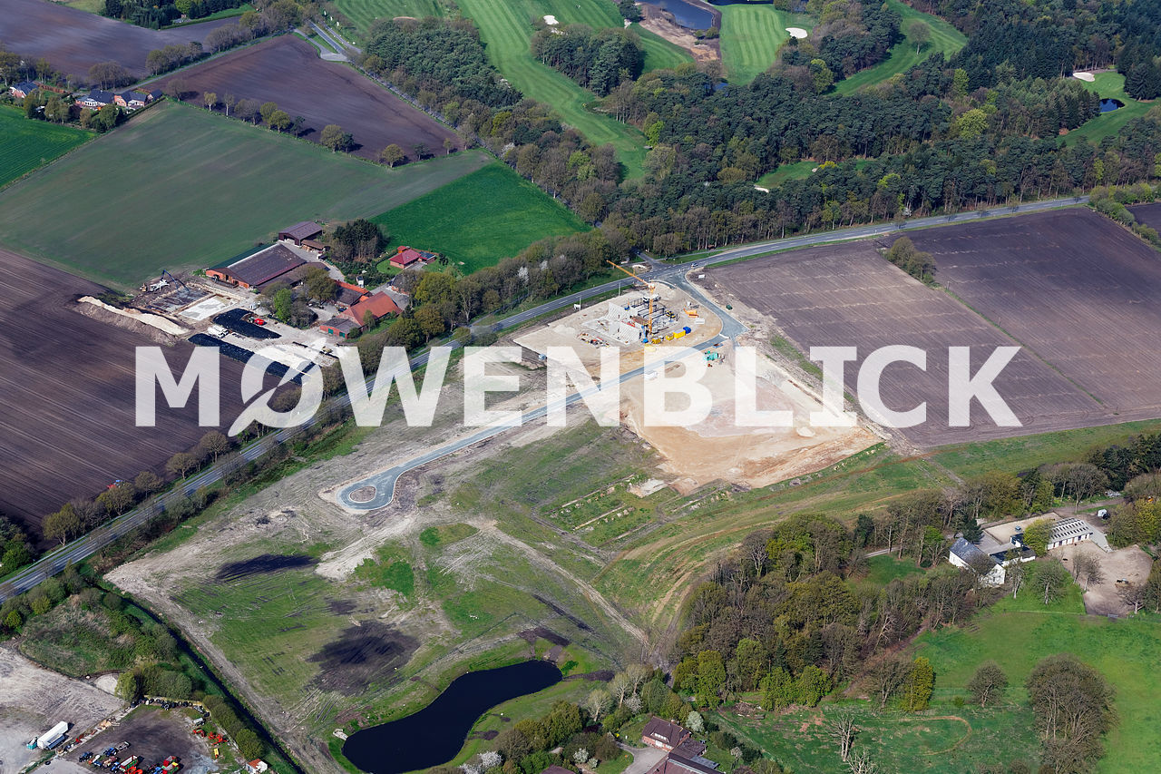 Gut Rehorn Gewerbegebiet Luftbild