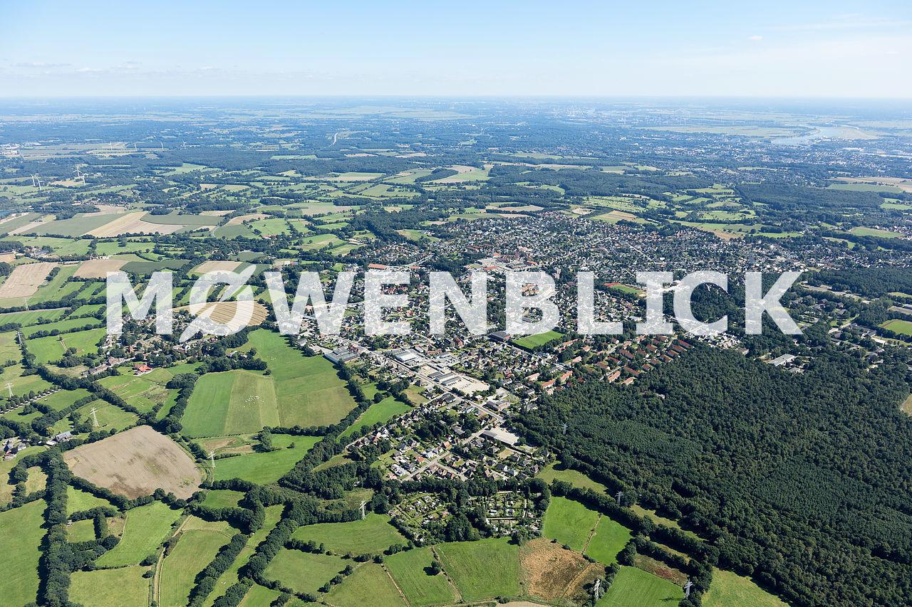 Gesamtansicht Schwanewede Luftbild