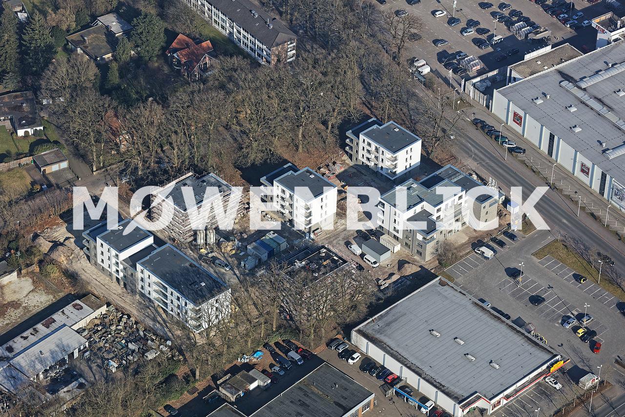 Kielweg Luftbild